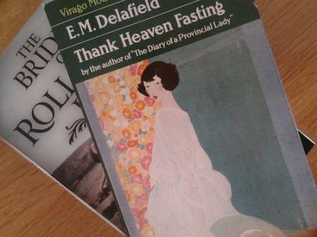 Thank Heaven Fasting by E.M. Delafield & The Brides of Rollrock Island by Margo Lanagan