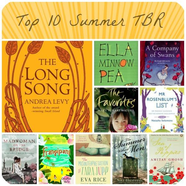 top10 Summer TBR